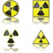 Radioactive — Stock Vector
