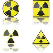 Radioaktywne — Wektor stockowy