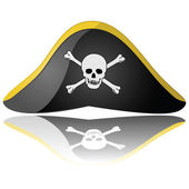 Pirate hat — Stock Vector
