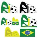 Rio de Janeiro graphic — Stock Vector #5487497
