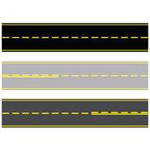 Las carreteras y autopistas — Vector de stock