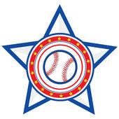 Baseball USA — Stock Vector