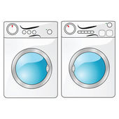 Washer and dryer — Stock Vector