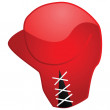 boxing glove — Stock Vector