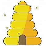 Beehive — Stock Vector #5732082
