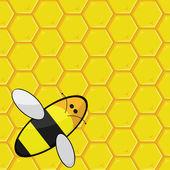 Nid d'abeille — Vecteur