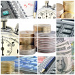 Business collage — Stock Photo #6502956