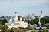 Iglesia monasterio ortodoxo ruso — Foto de Stock