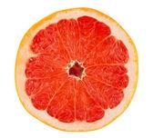 Slice of ripe grapefruit — Stock Photo