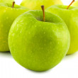 Stock Photo: Fresh green apples