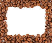 Frame made of coffee beans — Stockfoto