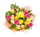 Colorful bouquet of flowers — Stock Photo