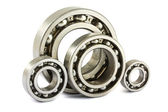 Steel ball bearings — Stock Photo