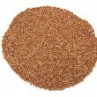 Stock Photo: Buckwheat isolated on a white