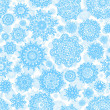 Royalty-Free Stock Vector Image: Seamless deep snowflakes. EPS 8