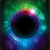 Fond de vecteur abstrait coloré de mosaïque. eps 8 — Vecteur