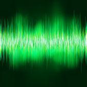 волна звуковой фон. eps 8 — Cтоковый вектор