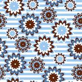 Floral seamless retro Vintage-Stil. Eps 8 — Stockvektor