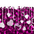 Royalty-Free Stock Vectorielle: Valentine\'s day card template. EPS 8