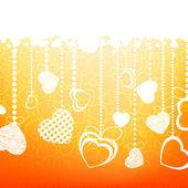 Valentine's background. EPS 8 — Stock Vector