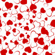 Royalty-Free Stock Vektorgrafik: Seamless hearts pattern. EPS 8