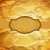 ビンテージ名刺デザイン テンプレートをコピー スペース。eps8. — ストックベクタ