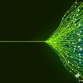 Abstrakt grön energi design. eps8 — Stockvektor