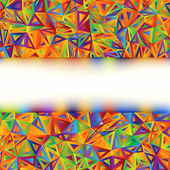 Colorful Abstract Banner template. EPS 8 — Stock Vector