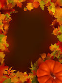 Illustration of thanksgiving day background. EPS 8 vector file included — Stock Vector