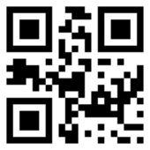 Sale data in qr code. (modern bar code). EPS 8 — Stock Vector