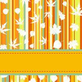 Colorati con strisce — Vettoriale Stock
