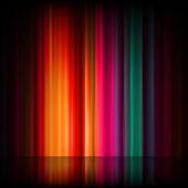 Aurora borealis. färgglad abstrakt. eps 8 — Stockvektor