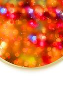 Kartenvorlage von glitter urlaub. eps 8 — Stockvektor