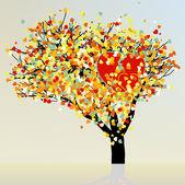 сердце и любовь дизайна. eps 8 — Cтоковый вектор