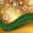 Royalty-Free Stock Vektorov obrzek: Merry Christmas Elegant Background. EPS 8