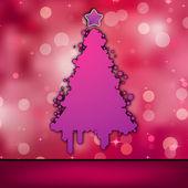 Christmas card template. EPS 8 — Stock Vector