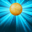 Royalty-Free Stock Vector Image: Abstract disco party lights background. EPS 8