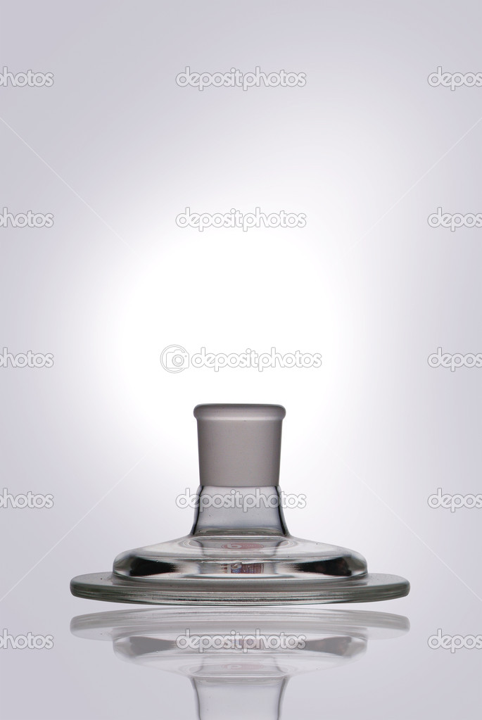 Glass laboratory equipment for science research — Stock Photo #6177112