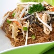 Chinese fried rice noodles - Stock Photo