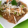 Chinese fried rice noodles — Stock Photo