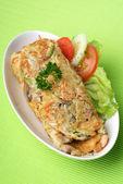 Egg Omelet — Stock Photo