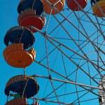 Old ferris wheel — Stock Photo #5808399