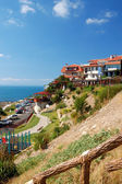 Black Sea Coast in ancient city of Nessebar, Bulgaria — Stock Photo