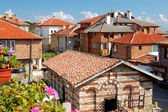 Roof of houses in ancient city of Nessebar, Bulgaria — Stock Photo