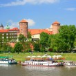 Stock Photo: Krakow, Poland, Wawel Castle