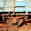 Old train close up — Stock Photo