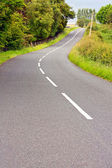 Lovely road on summer day in Scotland — Stock Photo