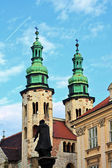 St Andrews church, Krakow, Poland — Stock Photo
