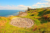Ruins of Dunure Castle — Stock Photo