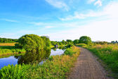 Forth and Clyde Canal in Scotland — Stock Photo